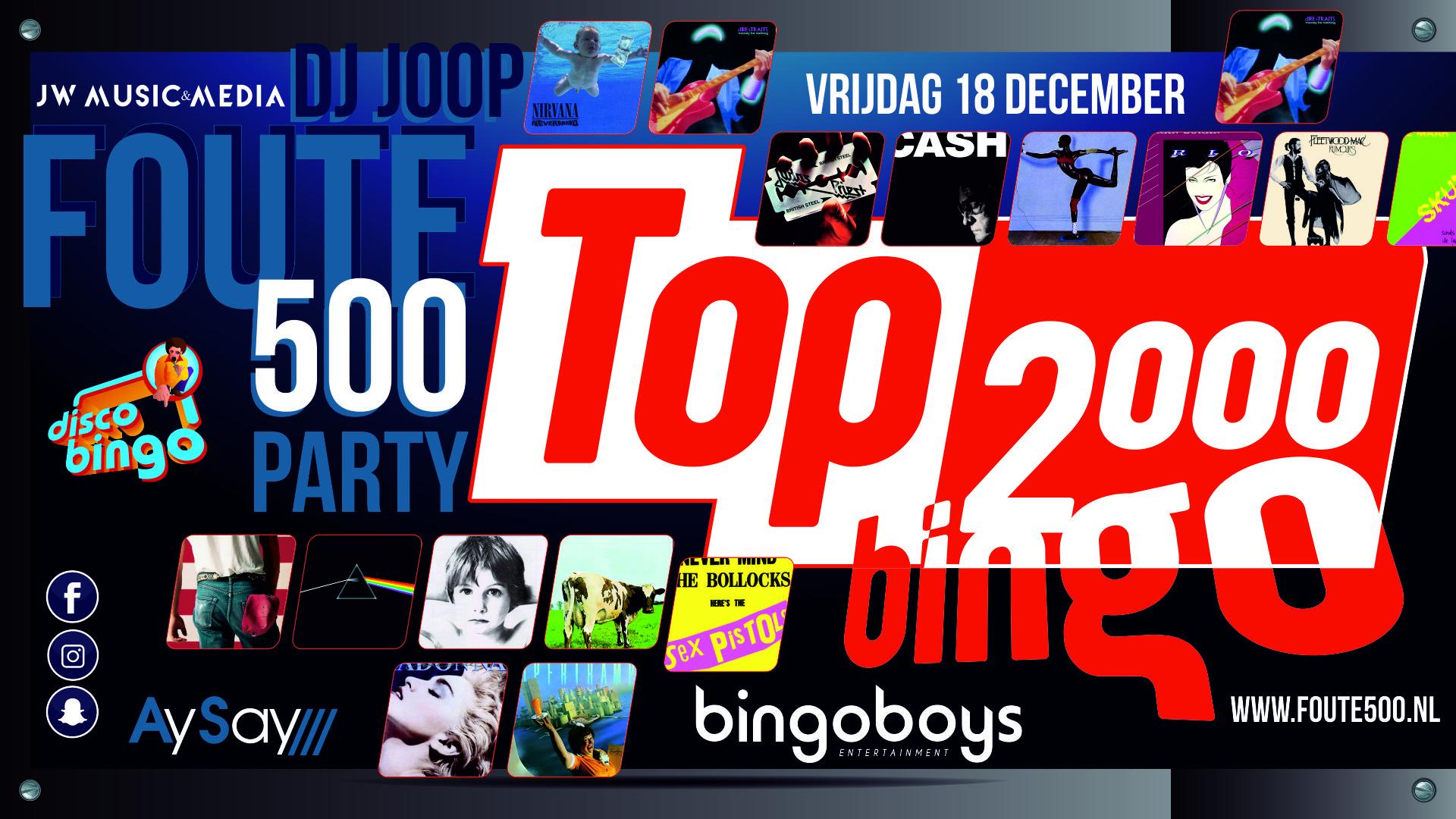 Facebook evenement Top 2000