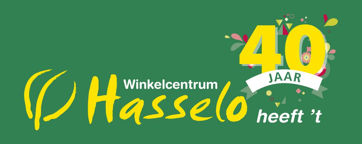 Logo Hasselo 40 jaar